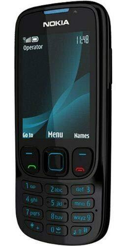 Nokia 6303i Classic 6303i schwarz (Ohne Simlock) Frei für alle SIM-Karten Black Neu