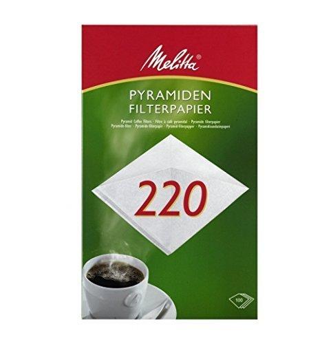100 x Pyramiden Filterpapier/Kaffeefilter