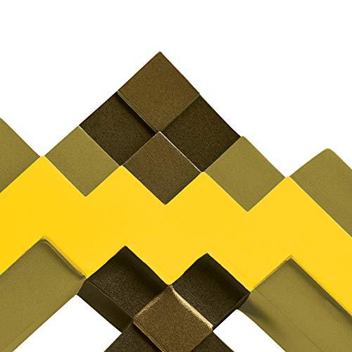 Minecraft Gold Pickaxe Costume Accessory