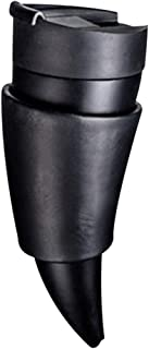 Goat Horns Shape Thermos Coffee Travel Mug,230ml Stainless Steel Thermos Mug with Strap
