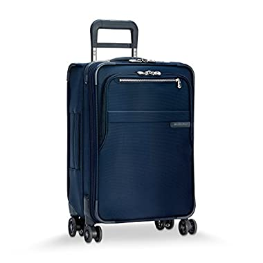 Briggs & Riley Baseline Domestic Expandable Carry-On 22  Spinner, Navy