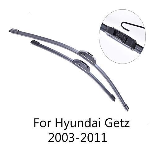 LILIGUAN voorruitenwisser voor Hyundai Getz 2003 2004 2005 2006 2007 2008 2009 2010 2011, gemaakt van zacht rubber