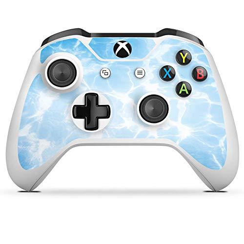 DeinDesign Skin kompatibel mit Microsoft Xbox One S Folie Sticker Schwimmen Pool Sommer