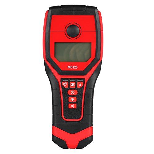 Nannday Stud Finder Scanner de Pared, Detector de Metales de Pared Sensible AC Live Wire Wood Finder con Pantalla LCD