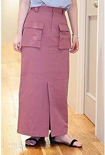 エヌ ナチュラルビューティーベーシック(N.Natural Beauty Basic*) ツイルダンプWポケットマキシスカート