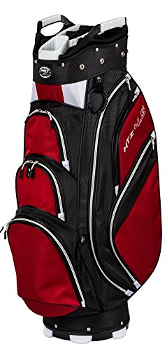Hot-Z Golf 4.5 Cart Bag (Black/Red/White)