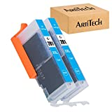 ARTITECH Replacement for Canon CLI-281 CLI-281 XXL CLI 281 Cyan Compatible Ink Cartridges Use for PIXMA TS9120 TR7520 TR8520 TS6120 TS6220 TS8120 TS8220 TS9520 TS6320 TS9521C Printer, 2 Pack CLI281 C