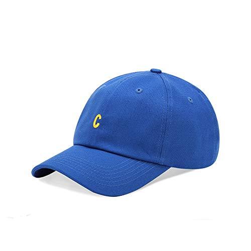 Nueva versión Coreana del Sombrero de béisbol de la Letra pequeña del algodón Salvaje del Sombrero del Sol del Verano del Casquillo Suave de la Moda Femenina
