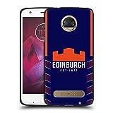 Head Case Designs Officiel Edinburgh Rugby Maison 2020/21 Crête Kit Coque Noir en Gel Doux...