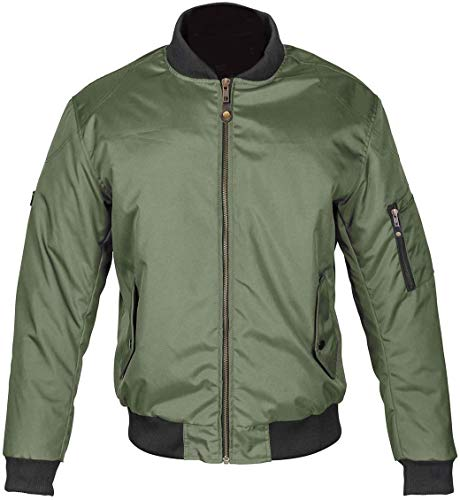 Spada Air Force One Motorradjacke L olivgrün