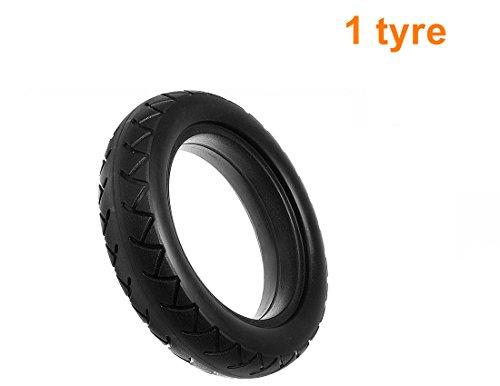"""L-faster """"size""""8 1/2 x 2 Solide Reifen Mijia Scooter Ersatz Reifen Xiaomi Elektroroller Ersatz Airless Reifen 8.5x2 Gummireifen Für M365 Scooter (1 tyre)"""