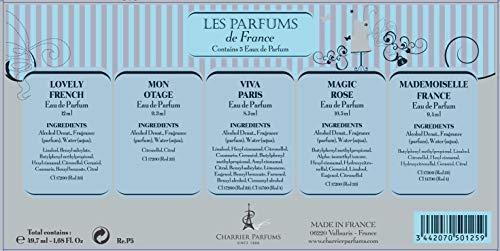 Charrier Parfums Charrier parfum 'fashion collection' 5er-geschenkset silber 49.7 ml
