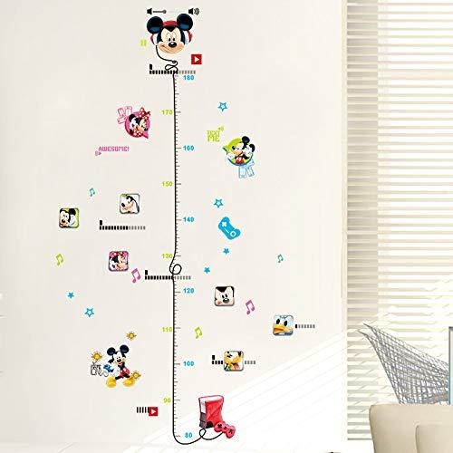 GOGR 3D Cartoon Anime Mickey Minnie Kinder Zimmer Schlafzimmer Hintergrund Wand Aufkleber Kindergarten Dekoration Aufkleber