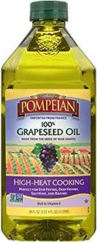 Pompeian 100% Grapeseed Oil 68 Fl Oz