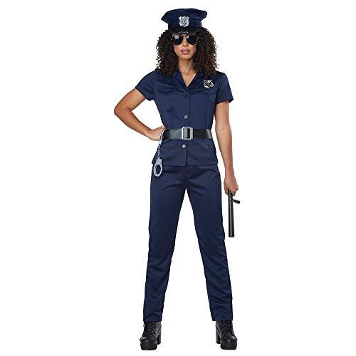 California Costumes Women's Plus-size Police Woman - Adult Plus Costume Adult Costume, -Navy, 1X-Large