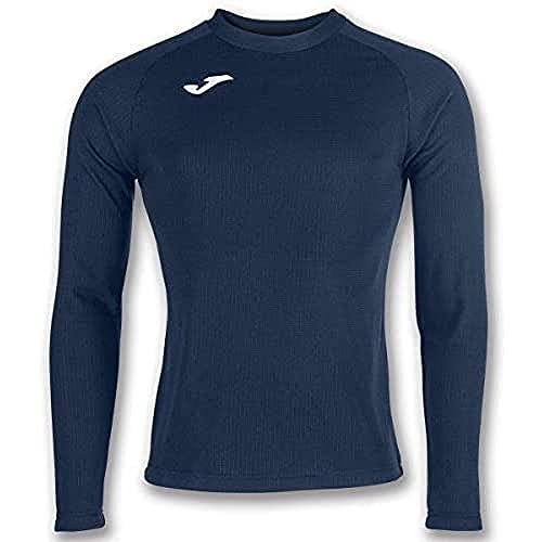 Joma Brama Camiseta Termica, Hombres, Azul Marino, L