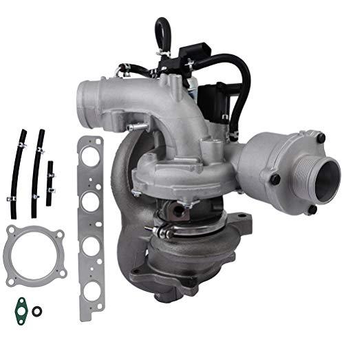 cciyu Engine Turbo Turbocharger K03 Turbocharger Fit For Audi A4 2.0L l4 09-16 For Audi A4 Quattro 2.0L l4 2009-2016 For Audi A5 2.0L l4 2010-2014 For Audi A5 Quattro 2.0L l4 2010-2017 For Audi A6