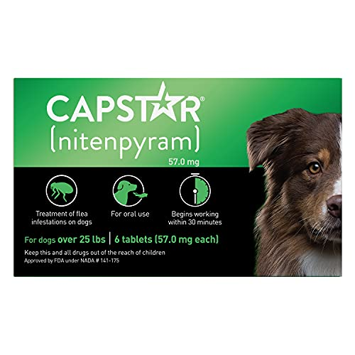 Capstar Fast-Acting Oral Flea Treatment