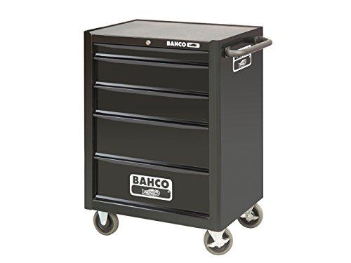 Bahco - Carro 5 cajones negro