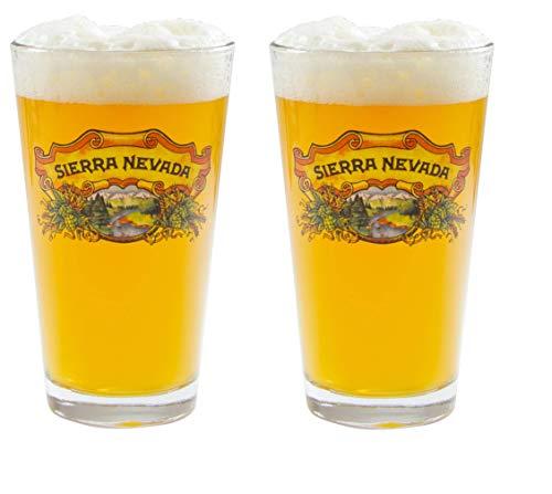 Sierra Nevada 16 Ounce Full Color Pint - Set of 2
