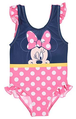 Minnie Mouse, Maillot De Bain 1 Pièce Bébé Fille (Rose,3 Ans)