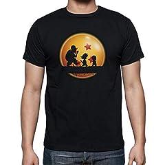 The Fan Tee Camiseta de Hombre Dragon Ball Son Goku Anime Vegeta Piccolo Akira Toriyama