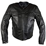 Best Xelement Armored Motorcycle Jackets - Xelement XS-6225 'Speedster' Men's Black Armored Leather Racing Review
