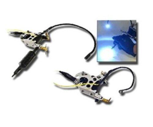 Adjustable Tattoo Machine Mounted LED GUN LIGHT kit new by 1TattooWorld