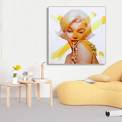 fdgdfgd Andy Warhol Lienzo Pared Arte Retrato Cartel de Audrey Hepburn Sala de Estar decoración del hogar