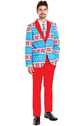 Tipsy Elves Blizzard Baller Suit Pants: 33P