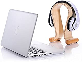 Xtenzi 弧形鸟类垂直木质支架桌面显示支架 适用于 Apple Macbook Pro/Macbook Air 38.1 厘米 33.02 厘米 27.94 厘米