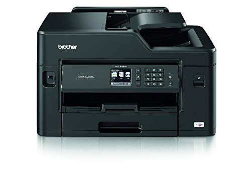 Brother MFC-J5335DW Colour Inkjet Printer - All-in-One, Wireless/USB 2.0/Network, Printer/Scanner/Copier/Fax Machine, 2 Sided Printing, A4 Printer/A3 print capability, Small Office/Business Printer
