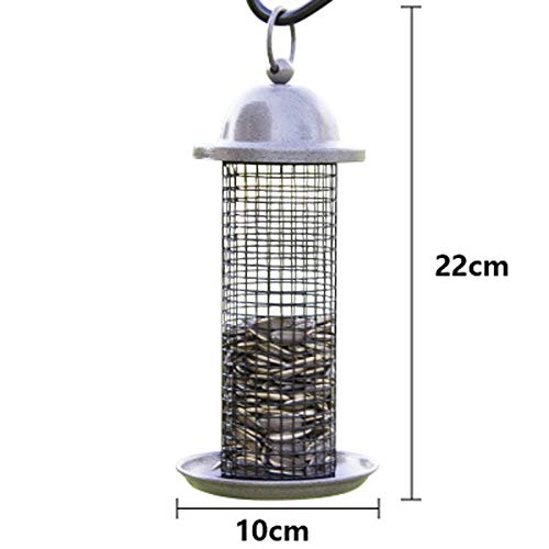 JXXDDQ Mangeoire à Oiseaux pour Animaux de Compagnie en Plein air Wild Food Container Park