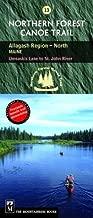 Northern Forest Canoe Trail: Allagash Region, North, Maine, Umsaskis Lake to St. John River (Northern Forest Canoe Trail Maps) by Northern Forest Canoe Trail (2004-09-15)