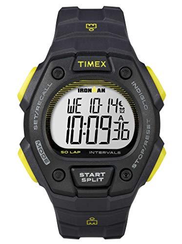 Timex Herren Digital Quarz Uhr mit Kautschuk Armband TW5K86100