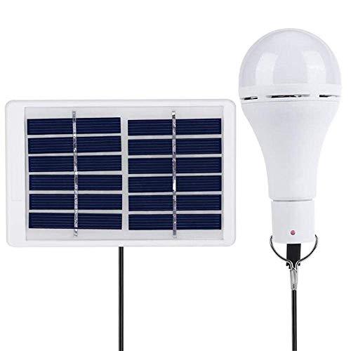 LILICEN La iluminación Exterior, Recargable portátil de luz de Camping Solar 9W COB 25 Bombilla LED lámpara del Panel USB for la Emergencia al Aire Libre