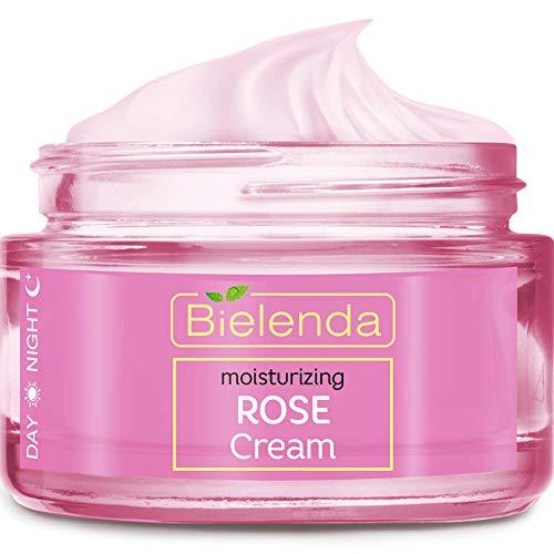 BIELENDA ROSE CARE beruhigende Gesichtscreme Tag&Nacht mit Hyaluronsäure 50 ml