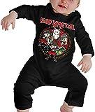 Ropa para bebés Jungen M? Dchen Camisetas, Babymetal Body para bebé Body de Manga Larga para bebé Body Unisex
