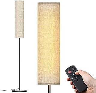 Lampadaire sur Pied Salon, 12W Lampadaire LED Dimmable en 4 Températures de Couleur, 2800K à 7000K Lampadaire Télécommande...