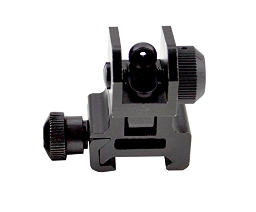 Sniper MFLRS01 Removable Flip-up Tactical Rear Sight Complete with Dual Aiming Aperture