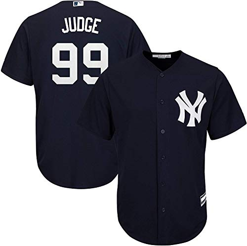OuterStuff Aaron Judge New York Yankees MLB Jungen Trikot für 8-20 Spieler, Navy Alternate, Youth Large 14-16