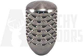 "Tactical Precision Manufacturing Titanium Bolt Knob 5/16x24 - Dragon Scale - (Short) 1.50"""