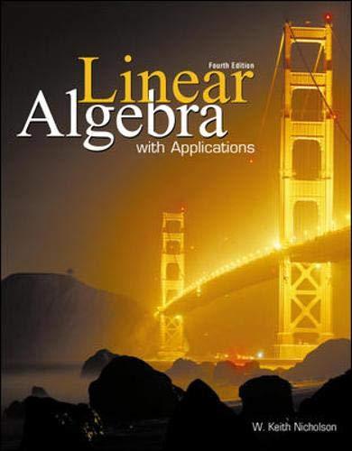 Linear Algebra+ Applications
