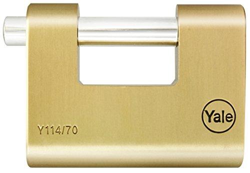 Yale YALY11470 Candado de Seguridad, 70 mm