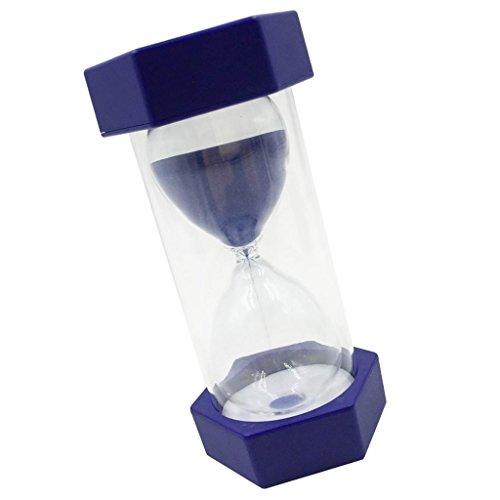Sharplace SchöneSanduhr Sandglass für Hause/Büro Dekoration 1Minuten / 2 Minuten/ 3 Minuten /5 Minuten / 10 Minuten / 15 Minuten - blau, 2 min