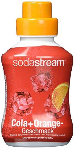 Sodastream Cola Mix, 2er Pack einfach selbstgemachte Limonade für Zuhause (2 x 500ml Flasche)