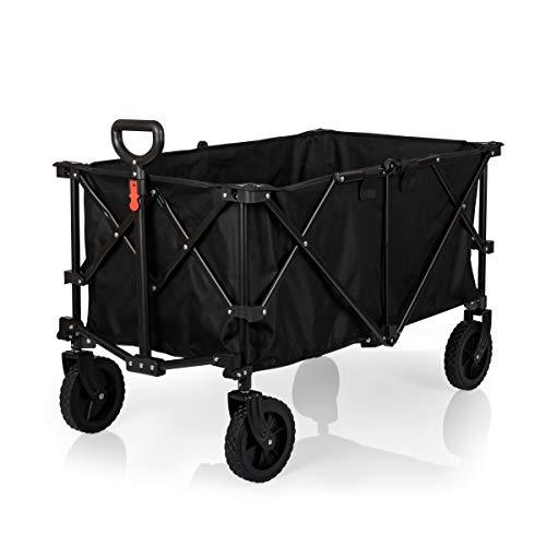 Picnic Time Adventure Wagon XL - Folding Wagon - Black