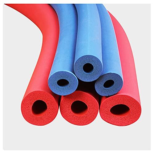 CDDQ Blue Impermeable Tubería de Espuma Aislamiento de Tubería,Flexible Aire Acondicionado Tubo Aislante,para Calefacción y Plomería Domésticas,D16/25mm SP15/20mm L1.8/2m