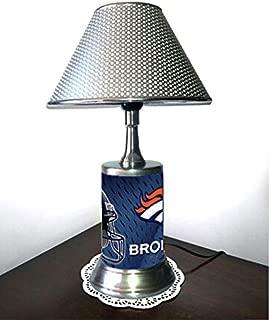 denver broncos lamp shade