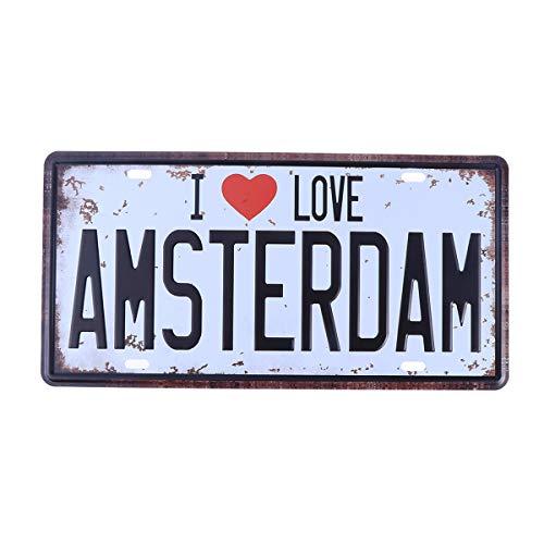 Wanddekoration Wanddekoration »Amsterdam«,